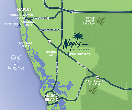 Contact Naples Reserve | New Homes in Southwest Florida