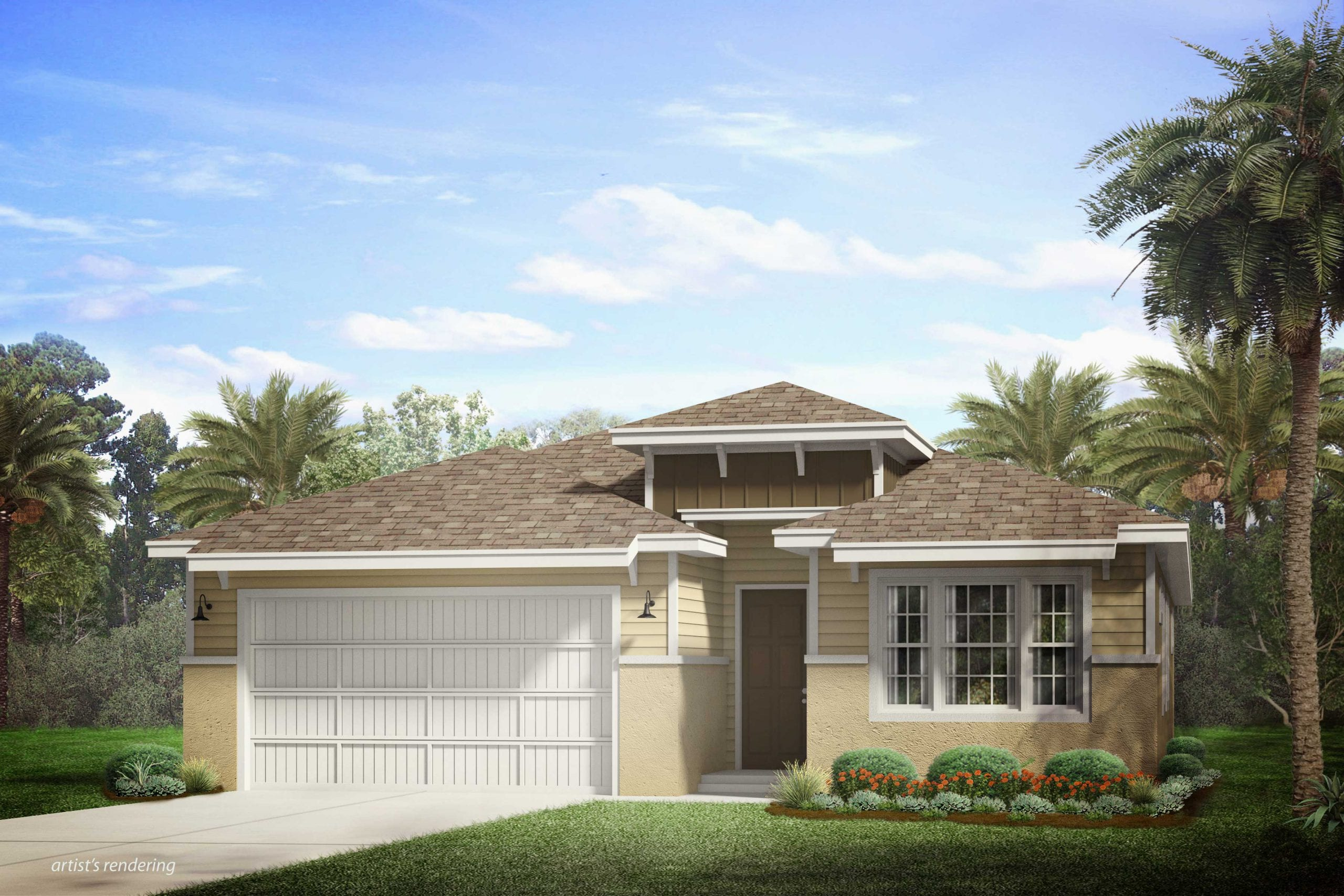 Two-story Ashbury Model at Naples Reserve