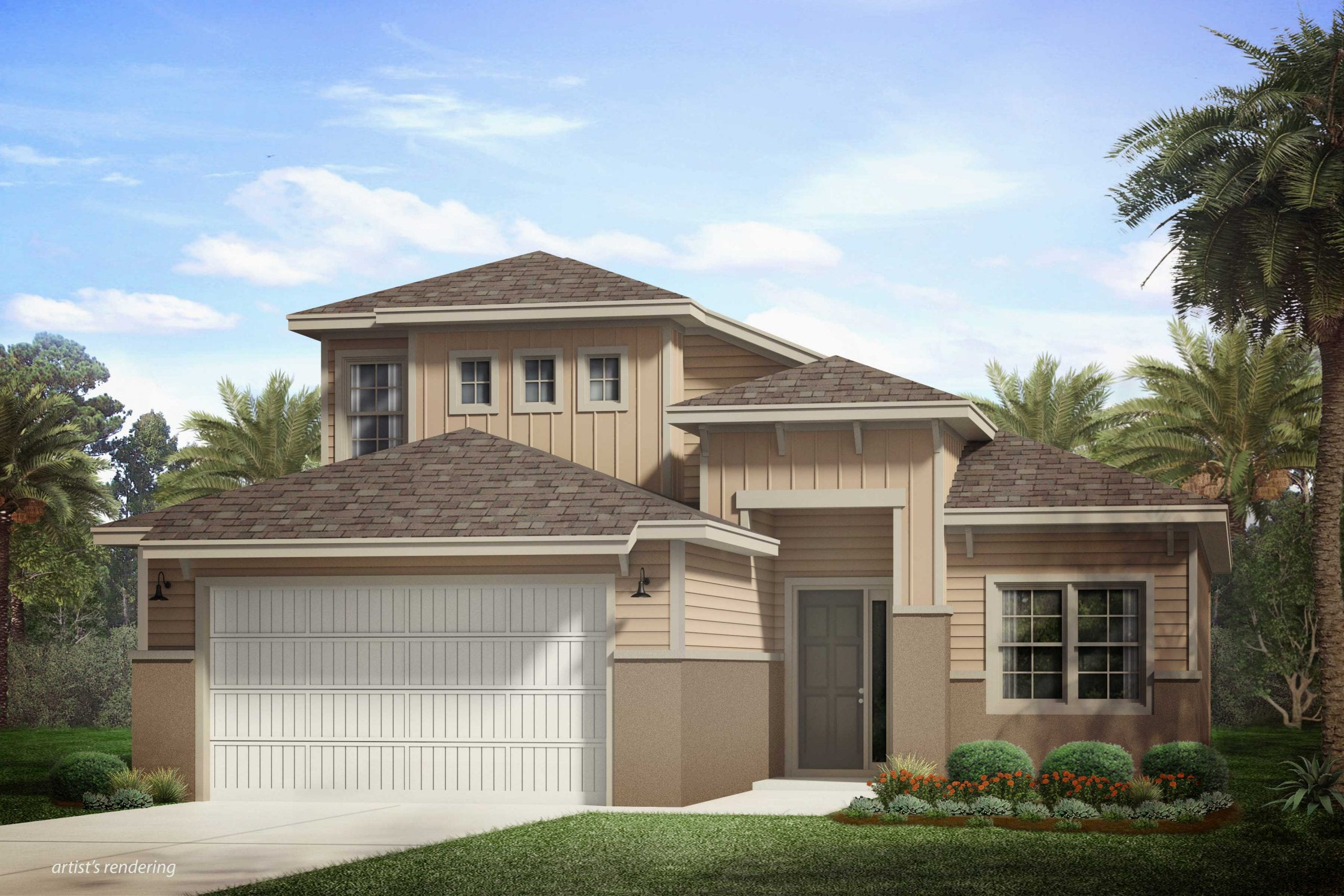 Two-story Bedford Model at Naples Reserve