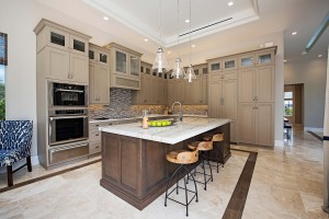 KTS Homes Newport kitchen at Naples Reserve
