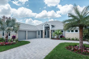Marvin Development Captiva model exterior at Naples Reserve