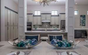 Marvin Development Captiva model kitchen at Naples Reserve