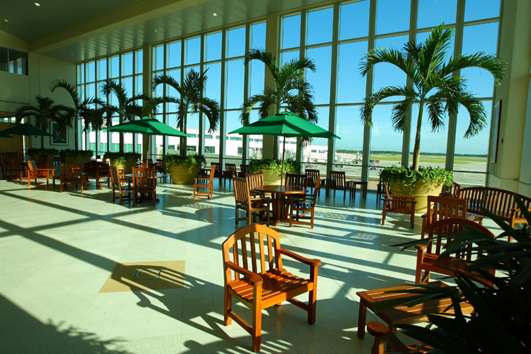 southwest florida international airport atrium