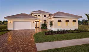 Stock Signature Homes Anastasia model at Naples Reserve