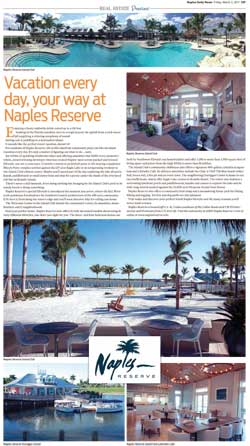 Vacation every day, your way at Naples Reserve