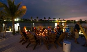 Naples Reserve Heats It Up With Fire Pit Fridays