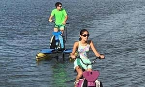 Naples Reserve Introduces Hydrobikes at Outrigger Center