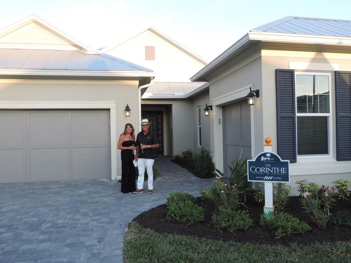 Naples Reserve Parade of Homes 2018 Ken-and-Joanne-Tavernia