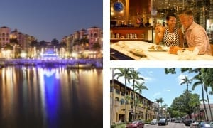 Downtown Naples: Where Nature's Beauty and the City's Extravagance Combine