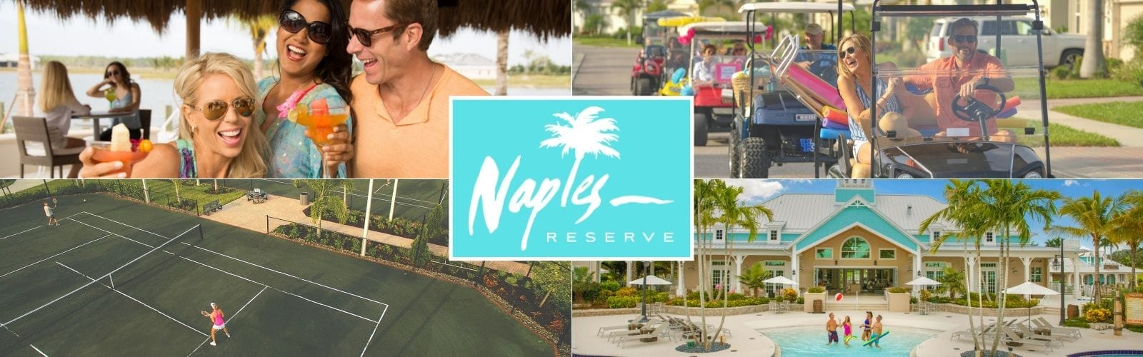 Montage of photos of activities at Naples Reserve