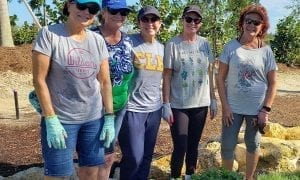A new community garden is taking root at Naples Reserve