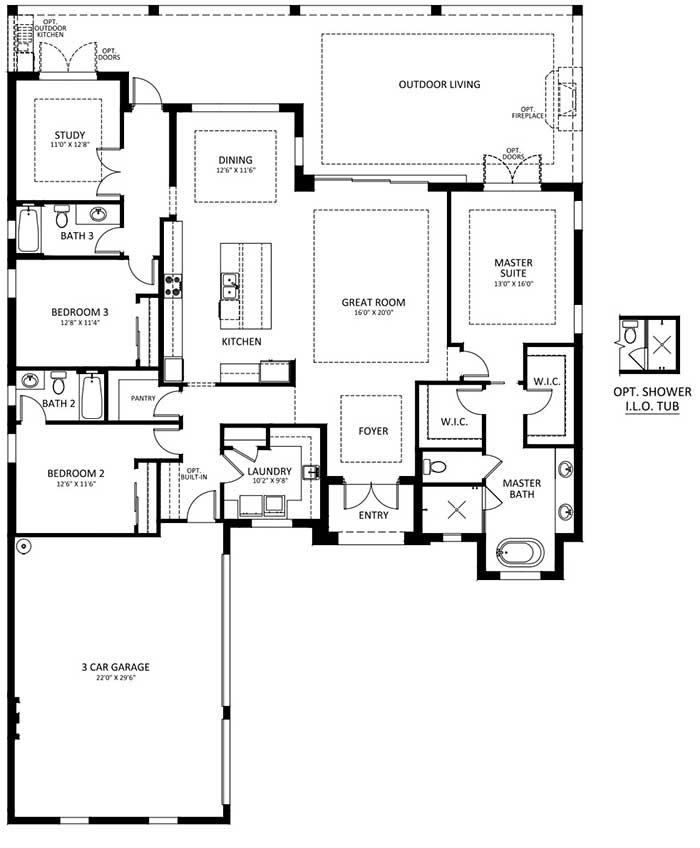 Naples Reserve Burlington II Floorplan