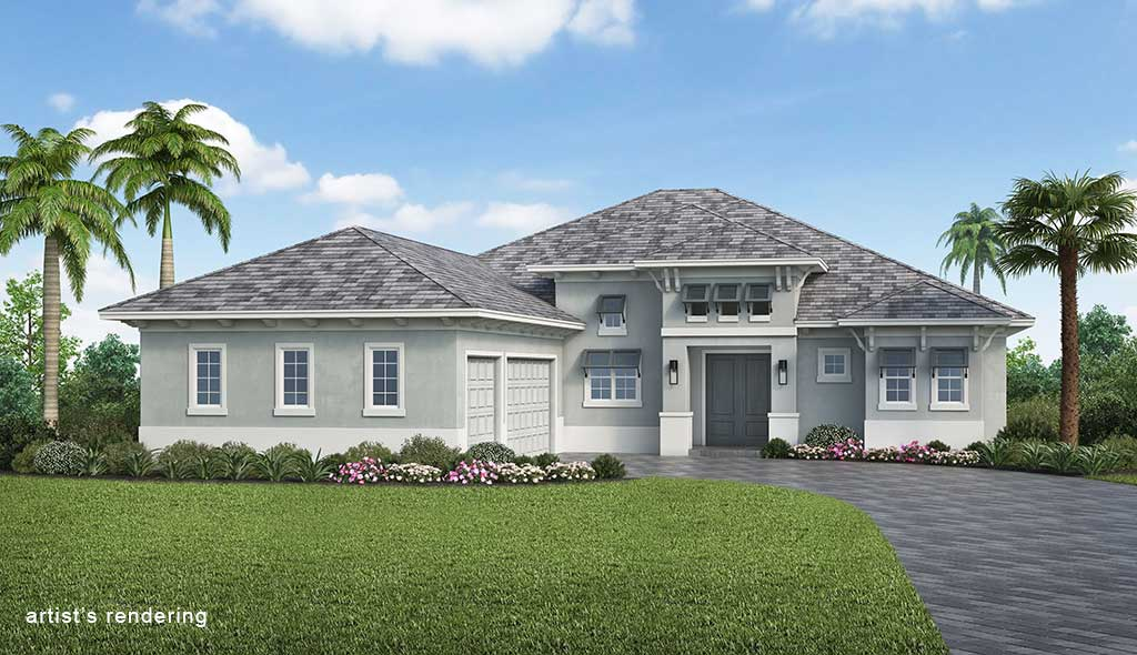 Naples Reserve Burlington II Rendering Elevation D