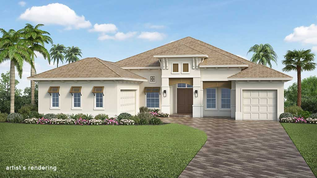 Naples Reserve Livia II Rendering Elevation D