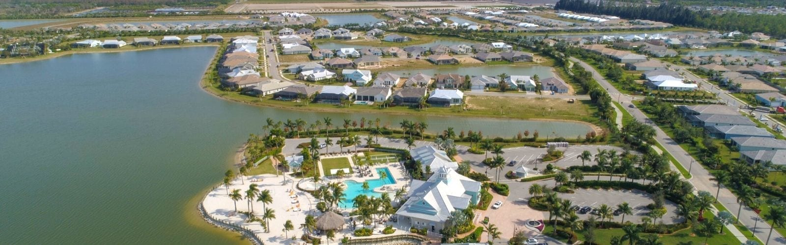 Aerial of Naples Reserve, South Naples #1 Selling Community