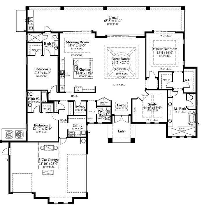 Summerland Key Floorplan